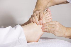 Leczenie chorób stóp u podologa